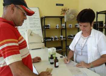 Farmacia en Cuba. Foto: Cubahora.cu.