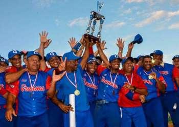 Granma se proclama Campeón de la 57 Serie Nacional de Béisbol. Foto: Yaciel Peña / ACN.