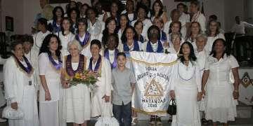 Las Hijas de la Acacia cumplen años años de su fundación. Foto: Cortesía de Hijas de la Acacia.