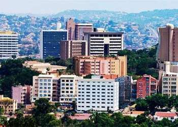 Kampala, capital de Uganda.