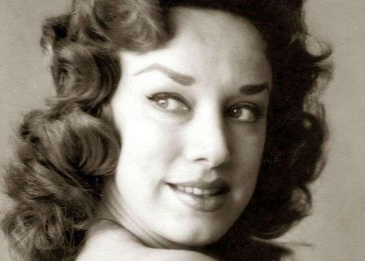 Rosita Fornés en los años 50.