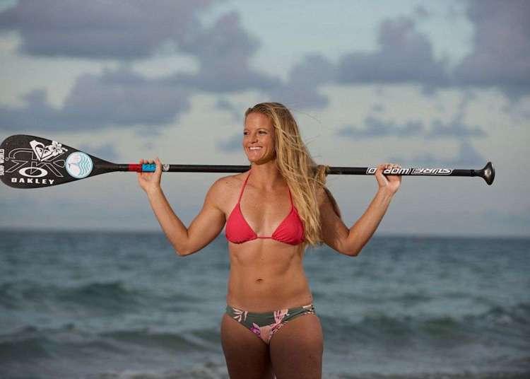 Victoria Burgess intentará remar de Cuba a Key West el próximo junio. Foto: Island Thyme Photography.