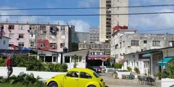 Entrada al Boulevard D´25 en la calle 25 entre N y M. Foto: Liane Cossío.
