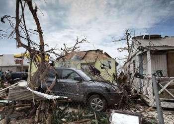 El huracán María devastó la isla caribeña de Dominica en septiembre de 2017. Foto: codigooculto.com