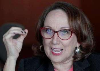 La secretaria general iberoamericana Rebeca Grynspan . Foto: Mario Guzmán / EFE.