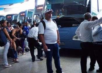Terminal de Ómnibus de La Habana. Foto: Laura Borges/Juventud Rebelde.