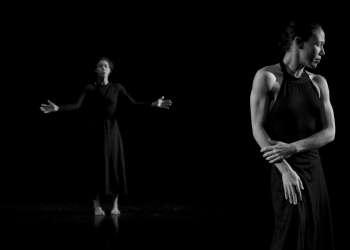 """""""Mensajeros"""" es una de las dos piezas que Danza Teatro Retazos estrenará este fin de semana en su sede de Amargura #61 entre San Ignacio y Mercaderes, Habana Vieja. Foto: Javier García."""