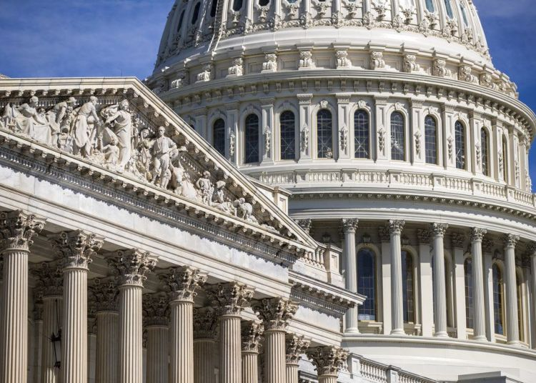 Vista de la sede del Congreso estadounidense en Washington el viernes 15 de junio de 2018. Foto: J. Scott Applewhite / AP.