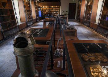Arqueología subacuática encontrada en pecios de Cuba, expuesta en La Habana. Foto: Claudio Pelaez Sordo / Archivo.