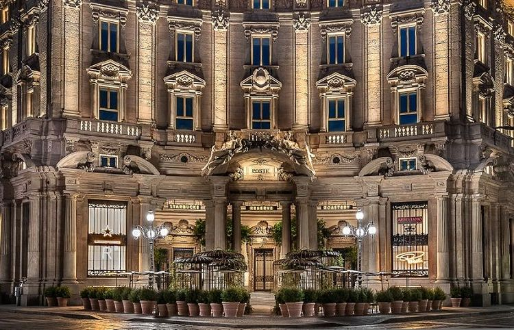 Starbucks en Milán. Foto: popsugar.com