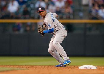 Erisbel Arruebarrena ha terminado su aventura con los Dodgers. Foto: Dustin Bradford/Getty Images