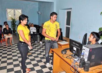 Unidad de Servicios y Trámites de Güines. Foto: Cristian Domínguez / Juventud Rebelde.