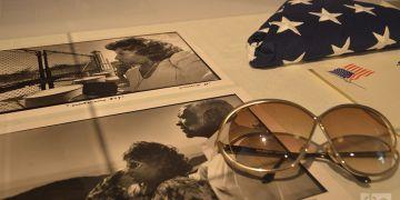 Fotos y algunos de los objetos del viaje de Celia a Guantánamo. Foto: Marita Pérez Díaz.