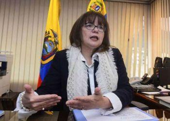 Carol Delgado, embajadora de Venezuela en Ecuador, expulsada por el gobierno de Lenín Moreno. Foto: Álvaro Pérez / EL TELÉGRAFO.