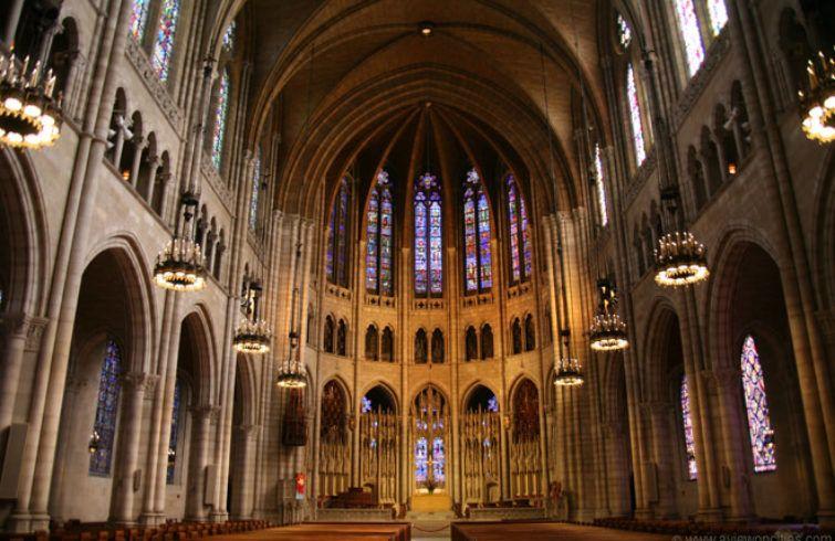 Iglesia Riverside de Harlem. Foto: aviewoncities.com