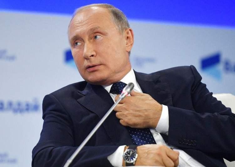 El presidente ruso Vladímir Putin. Foto: Alexei Druzhinin / Sputnik / Pool del Kremlin vía AP.