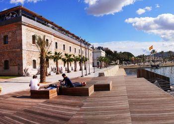 La Universidad Politécnica de Cartagena, en Murcia, España. Foto: fotocommunity.es