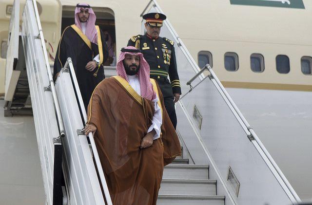 El príncipe saudí desembarca en Buenos Aires (Foto: oficial G-20)