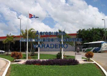 Aeropuerto Internacional Juan Gualberto Gómez, de Varadero. Foto: aeropuertos.net
