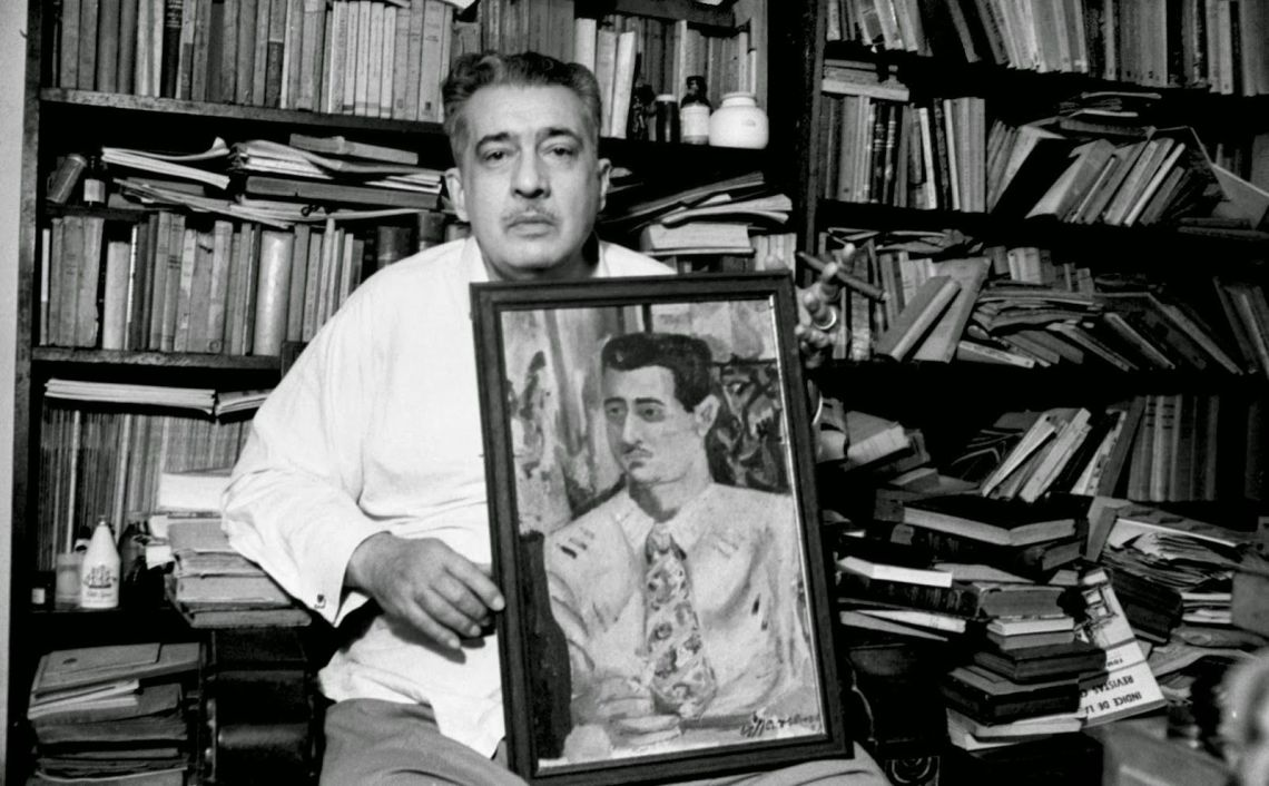 José Lezama Lima. Foto: Iván Cañas.