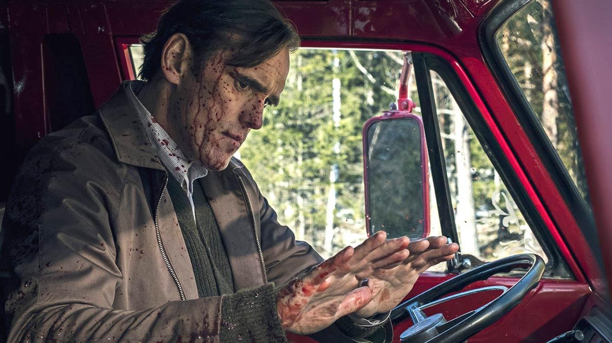 """Fotograma de la película """"La casa que Jack construyó"""", con Matt Dillon en el rol protagónico. Foto: mevadecine.com"""
