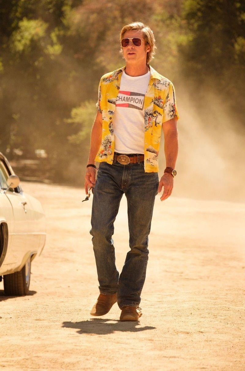 Brad Pitt. Foto: Andrew Cooper/©2019 Sony Pictures Entertainment.