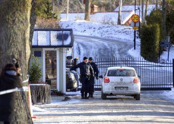 Foto desde afuera del lugar donde delegados de Estados Unidos, Corea del Sur y Corea del Norte se están reuniendo en Estocolmo, Suecia, el 20 de enero del 2019. Foto: Anders Wiklund / TT News Agency vía AP.