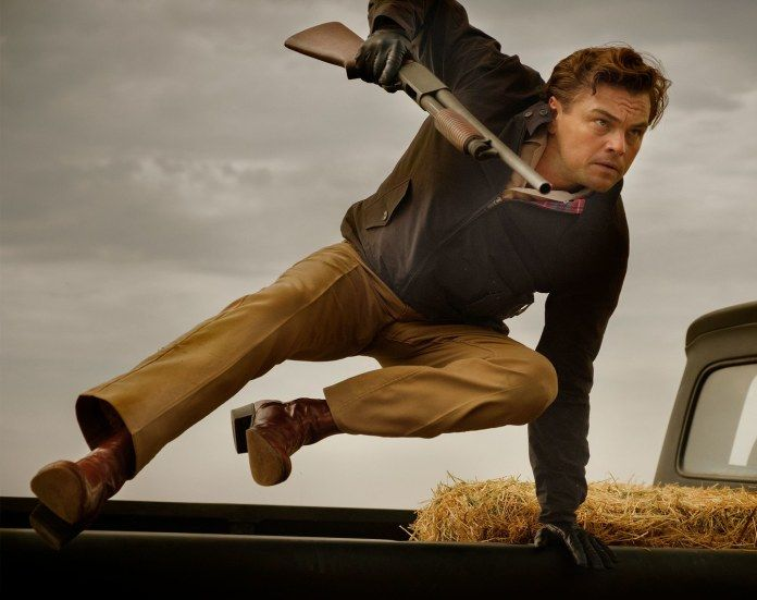 Leonardo DiCaprio. Foto: Andrew Cooper/©2019 Sony Pictures Entertainment.