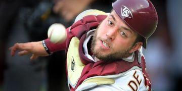 Daniel De La Calle, un cubano que prueba suerte en el béisbol de Australia. Foto: Tomada de Baseball Prospectus
