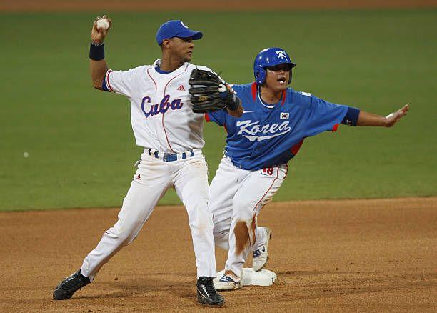 La última experiencia olímpica del béisbol en Juegos Olímpicos fue en Beijing 2008, uno de los capítulos más tristes para Cuba por la derrota en la final contra Sudcorea. Foto: Natalie Behring/Bloomberg via Getty Images