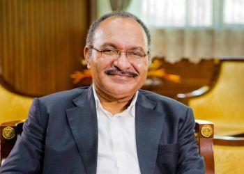 Peter O'Neill, primer ministro de Papúa Nueva Guinea. Foto: Sitio oficial del gobierno papú.