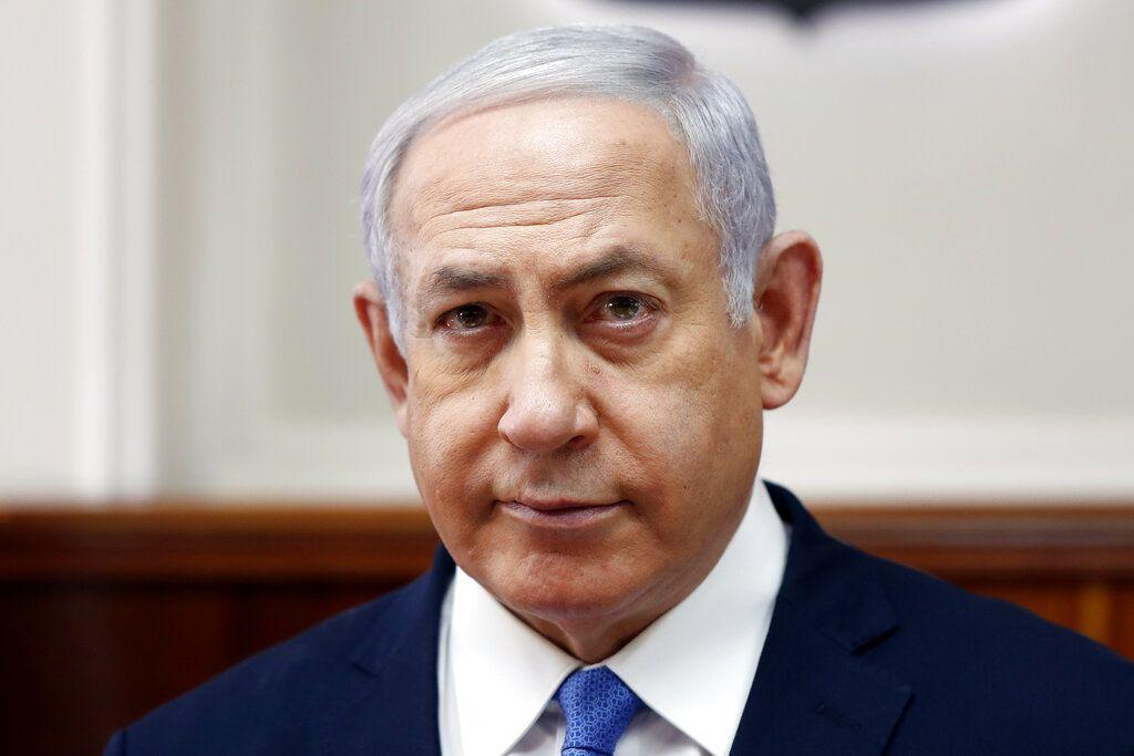 El primer ministro israelí Benjamin Netanyahu en Jerusalén el 3 de febrero del 2019. (Ronen Zvulun/Pool Photo via AP)