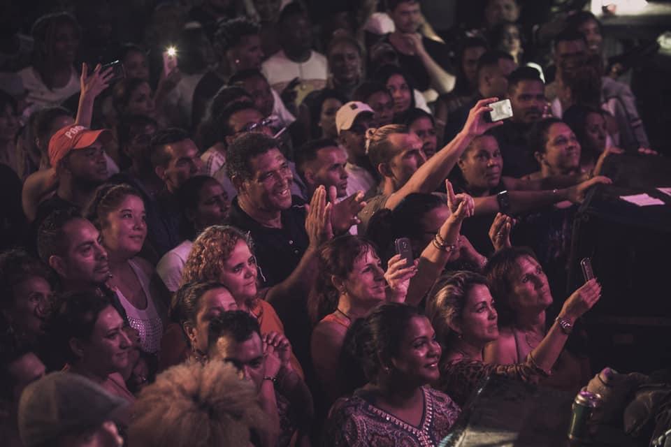 Concierto de Jerry Rivera en La Habana. Foto: Página oficial Jerry Rivera en Facebook.