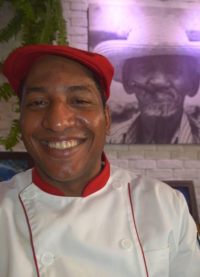 Osmani Castillo, otro experimentado chef cubano, que se destacó por la calidad de sus ofertas en su periodo en A-ché y luego en Caribeño.