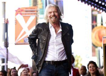 El magnate británico Richard Branson es el organizdor del concierto del lado colombiano. Foto: Chris Pizzello/Invision/AP Archivo.