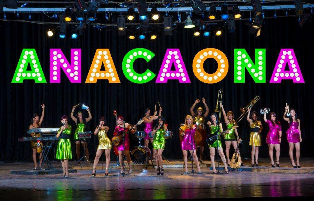 Orquesta femenina Anacaona. Foto: Perfil de Facebook de la agrupación.