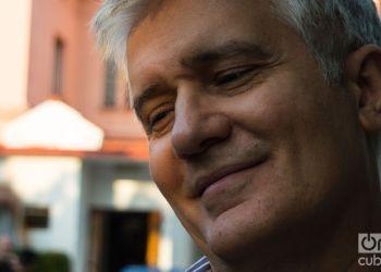 Carlos Celdrán, director de Argos Teatro Foto: Otmaro Rodríguez