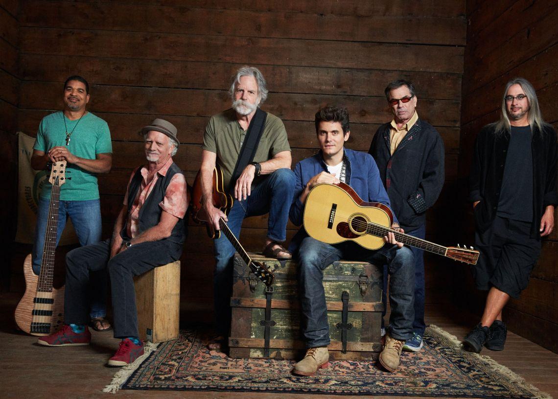 Dead & Company participará en el concierto por el 50 aniversario del festival de  Woodstock. Foto Rolling Stone