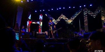 Eme Alfonso durante su actuación en el Festival Havana World Music 2019. Foto: Otmaro Rodríguez.