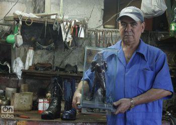 Raúl Gómez Arteaga busca mantener vivo el espíritu de Teófilo Stevenson, su ídolo. Foto: Heeney Figueroa
