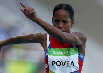 Liadagmis Povea durante su participación en las Olimpiadas de Rio de Janeiro en 2016. Foto: Cubadebate.