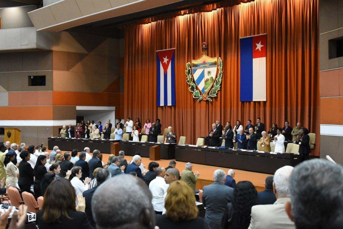 Foto: Asamblea Nacional del Poder Popular / Twitter.