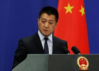 Portavoz del Ministerio de Relaciones Exteriores chino, Lu Kang. Foto: Reuters.
