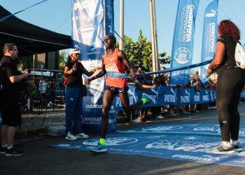 Kiplagat retuvo el título de la Media Maraton Varadero 2019. Foto: Roberto Morejón / EFE.
