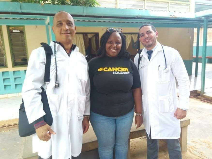 Los doctores cubanos Assel Herrera (izq) y Landy Rodríguez (der), secuestrados el 12 de abril en Kenia, presuntamente por militantes del grupo extremista Al Shabab. Foto: Escambray / Archivo.