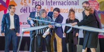 Inauguración de la Feria del Libro de Buenos Aires. Foto: Kaloian.