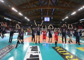 VOLLEY PALLAVOLO, PLAY OFF FINALE SCUDETTO GARA 4.  CUCINE LUBE CIVITANOVA -  SIR SAFETY CONAD PERUGIA.
