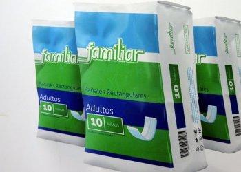 Pañales desechables que comercializará la empresa mixta cubano-italiana Industria Arthis S.A. Foto: Omara García / ACN.