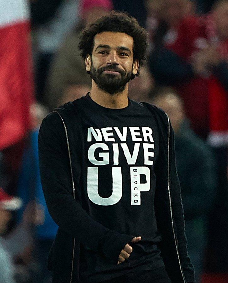Mo Salah nunca dejó de creer. Foto: Tomada de Twitter