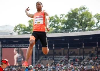 El saltador cubano Juan Miguel Echevarría. Foto: as.com / Archivo.